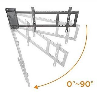 זרוע חשמלית לקיר עבור מסכים דקים CT-STAND MAW400